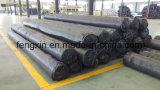 Película impermeável do HDPE quente do preto da venda, folha de PC/PVC, HDPE Geomembrane