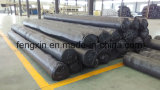 Película impermeable de la venta del HDPE caliente del negro, hoja de PC/PVC, HDPE Geomembrane