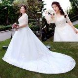 2017 New Custom grand plus la taille robe de bal Robe de mariée