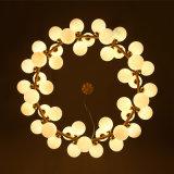 ホテルのための現代ガラス玉LEDの装飾的なシャンデリア