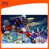 Спортивная площадка новой конструкции Mich крытая мягкая башни спайдера с большим скольжением для игры малышей