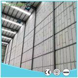 熱絶縁体カラー屋根ふきのための鋼鉄EPSサンドイッチパネル
