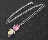 Swarovskiの宝石類のネックレスのペンダントからの32822の方法破損の目デザイン水晶