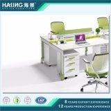Estação de trabalho do projeto simples de mobília de escritório para 4 Seater