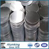 Círculo de aluminio 3003, 8011 del precio del molino para las chapas fondas del Cookware inoxidable