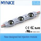 Módulo de la inyección del precio al por mayor LED con ángulo de haz de la lente 160