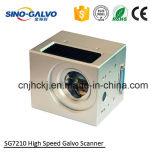 Explorador de laser del galvanómetro Sg7210 para la mini máquina portable de la marca del laser de la fibra