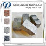 Этап диаманта инструмента каменного резца для после того как я поделен на сегменты увидел лезвие
