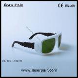 Justierbarer Spant 6 der IPLsicherheitsglas-Schutzbrillen für IPL bearbeitet 200-1400nm maschinell