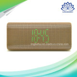 Digital Screen Alarm Clock Bluetooth Speaker Box com FM