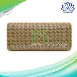 FMのデジタルスクリーンの目覚し時計のBluetoothのスピーカーボックス