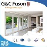 Fuson kontinuierliche Außenaluminiumfalz-Tür für Balkon