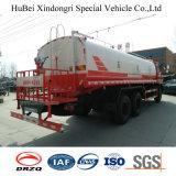 20cbm Dongfeng 유로 4 공도 정비 물 물뿌리개 유조 트럭