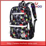 Bagagem de bagagem de moda Bagagem de mochila para laptop para escola secundária