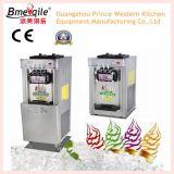 Machine verticale de crême glacée d'acier inoxydable