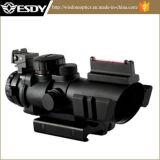 4X32mm taktisches optisches Rotes/Grün/blauer PUNKT Anblick für 20mm Schienen-Gewehr