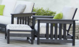 Do pátio ao ar livre tradicional do jardim de Polywood da mobília do balcão dos EUA sofá secional ajustado (1+2+3)