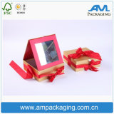 塗被紙のカスタム長方形の小箱の新しい着色されたリップの光沢の包装