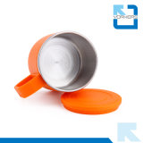 6 colores de acero inoxidable de doble pared de agua taza de beber copa para los niños