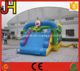 Trasparenza combinata di vendita calda e gonfiabile gonfiabile del castello, castello di rimbalzo gonfiabile per i capretti