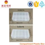 Cadre clair dispensé par plastique de 10 compartiments