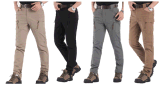 Pantaloni tattici solidi del cotone del carico dei pantaloni di aria aperta di IX9 degli uomini