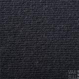 Tessuto Mixed delle lane con buona elasticità nel nero