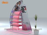 Présentoir de sol papier carton étagère d'affichage pour la vente au détail