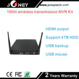 IP66 imprägniern drahtlosen 2MP NVR Installationssatz der Gewehrkugel-Kamera-4channel