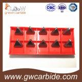 Вставка Cnmg Tnmg 160408 карбида вольфрама для филировать