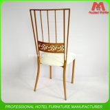 Stackable украшения стула венчания металла