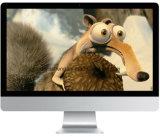 PC tout-en-un Quad-Core de 18.5 pouces avec support tactile Win10