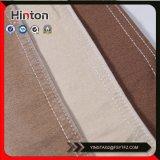 Tessuto di lavoro a maglia memorizzato del denim di colore del Brown