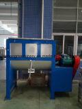 Máquina doble horizontal del mezclador de la cinta para mezclar el polvo seco