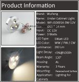 luz de la visualización de Downlight de la luz del punto 3W