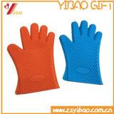 Silicone colorido da alta qualidade feita sob encomenda que cozinha luvas, luvas do forno (YB-AB-016)