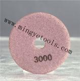 Almofada de diamante para granito de concreto de mármore