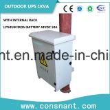 48VDC 1kVA im Freien Online-UPS mit Lithium-Eisen-Batterie