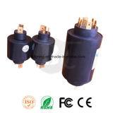 Anéis deslizantes confiáveis e compactos para aquecedor Od 45mm, 8 circuitos