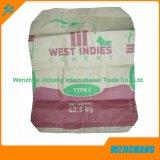 Laminación PP tejido de cemento bolsa