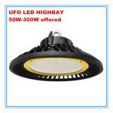 5 anos de luz elevada do louro do diodo emissor de luz do UFO da garantia 150W com o excitador do UL Meanwell