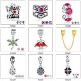 DIY Mixed Christmas Designs Alloy Christmas Charms
