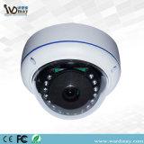 720p IR Abdeckung Fisheye verdrahtete IP-Überwachung-Minikamera für inländisches Wertpapier