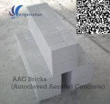 Blocos de parede de AAC para ventilado esterilizado bloco de cimento