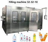 Máquina de embalagem de enchimento Zhangjiagang da bebida Turnkey do refresco de Full Auto