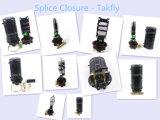 8-48 núcleos exteriores verticales de cierre de empalme de fibra óptica FTTH