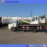 De kleine Kraan van de Vrachtwagen voor Bouw in Bangladesh