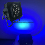 新しいAPP移動式12*15W Rgbawの電池式の無線電信LED PAR64ライト