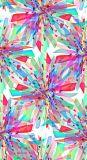Disegno di Abstrct per il tessuto chiffon di seta di stampa di Digitahi