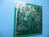 Tarjeta de cobre PWB de 1.5 onzas 4 capas con oro de la inmersión